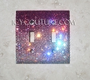 Your Color Fading Effect Crystal Light Switch Cover Plate. Select Your Type