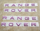 Swarovski Crystals RANGE ROVER  emblems. Select Your Set.