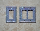 Rocker Style Light Switch Plate Covers, Single, Double, Triple. Whats your color?