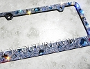 ICY ROCKS - bedazzled License Plate Frame. Whats Your Colors?