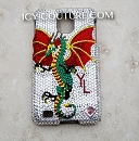 DRAGON - Custom Bedazzled phone covers by Icy Couture