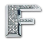 Crystallized Letter F