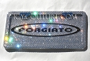ICY COUTURE FORGIATO PLATE, fully bedazzled with Swarovski crystals