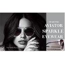 ADRIANA style -  ICY Couture Aviators with Swarovski Crystals