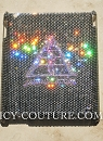 Custom ICY Couture Crystal iPad Cover bedazzled with Your Logo