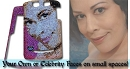 Your Own ICY Couture Portrait bedazzled with Swarovski Crystals