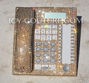 ICY Couture Golden Shadow Crystal Home Office Phone. Whats Your Color?