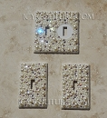 Crystal Pearls Light Switch Cover Plate