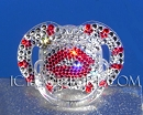 LIPS - ICY Couture Custom Crystal BABY PACIFIER