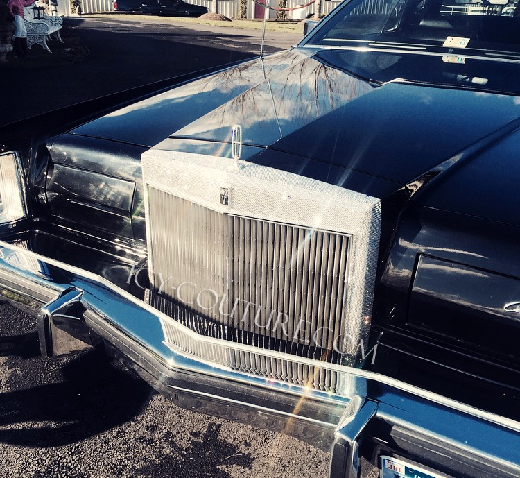 Fully Iced Out Grill Lincoln Mark 5