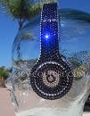 PURPLE VELVET Beats by Dr. Dre Bedazzled Headphones. Solid color of your choice.