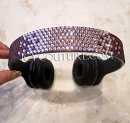 PURPLE Fade BLING Beats by Dre Bedazzled Headphones. Whats Your Colors?