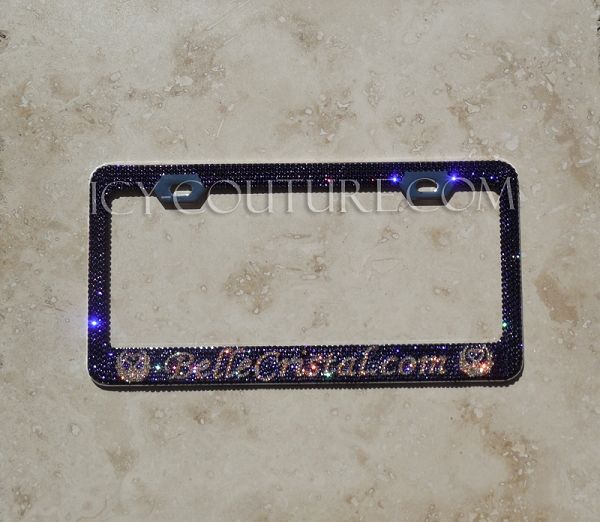 Your Business Name Custom License Plate Frame With