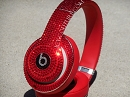 HOT RED Bling Beats by Dre ICY Couture Headphones. Whats Your Color?