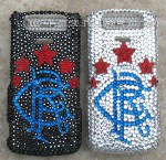 Your Initials -  Personalize your phone in Swarovski crystals!