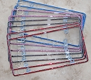 ICY Slim Rim Crystal License Plate Frame. Whats your color?