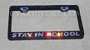 Your Message - Custom Swarovski License Plate Frame