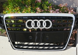 AUDI GRILL with Swarovski Crystals. What Your Color?