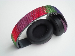Binaural Ombre Beats Design with Swarovski Crystals.