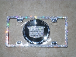ICED OUT CADILLAC SET Swarovski Crystals Diamond Clear, or Blacked Out. Whats Your Color?