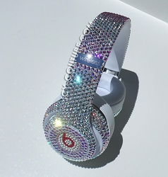 Iridescent Bling Beats Swarovski Crystals. Whats Your Color?