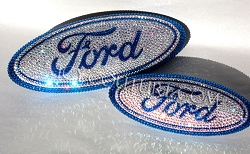 Swarovski Crystal FORD FUSION emblems. Select Your Set. Whats your colors?