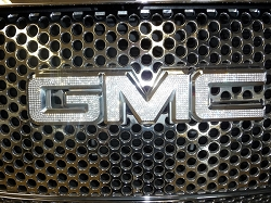Crystal GMC Sierra Emblems.