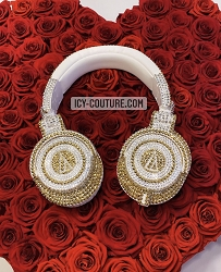 VOLCANO MONSTER DNA Headphones with Swarovski Crystals
