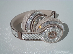 Bling Beats Design with Swarovski Crystals - Diamonds & Rose Gold Couture