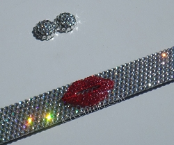 Duck Lips Frame 3D Lips License Plate Frame Swarovski Crystals