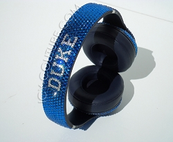 DUKE Fan Headphone Design with Swarovski Crystals