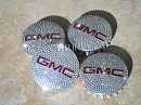 Crystal GMC Center Wheel Rim Caps: Pink, Black, Any Color!