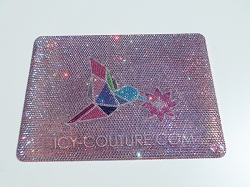 Hummingbird - Swarovski Crystals Macbook Cover