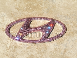 Crystal Pink HYUNDAI SANTA FE Emblems! What's Your Color? Select Your Set