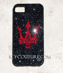 MASERATI logo ICY Couture Phone Cover Design