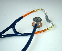 Your School Colors Stethoscope with Swarovski Crystals. Whats Your Brand?