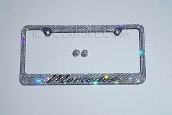 MERCEDES License Plate Frame Swarovski Crystals. Whats Your Car Model?