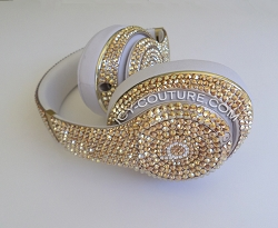 METALLIC SUNSHINE Bling Beats Swarovski Crystals