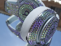 PARADISE SHINE Custom Beats with Swarovski Crystals. Select Your Beats