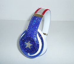 Patriot Beats Design with Swarovski Crystals