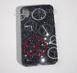 Peace & Contentment Phone Design with Swarovski Crystals. Whats Your Phone?