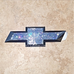 Crystal CHEVY SILVERADO Emblems with Swarovski Bling. What your color?