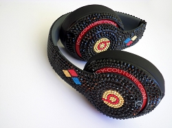 STEELERS Custom BLING Beats with Swarovski Crystals.