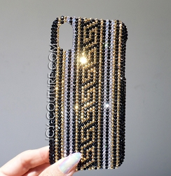 Designer Edition - Medusa iPhone XS Design Swarovski Crystals. Select Your Phone..