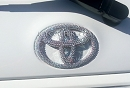 Bedazzled Swarovski Bling TOYOTA Emblem. Whats Your Color?