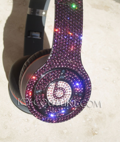 Wireless BLING Beats by Dre Bedazzled Headphones. Whats Your Color  da130511ea55