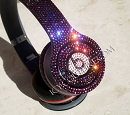 Wireless BLING Beats by Dre Bedazzled Headphones. Whats Your Color?