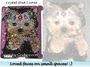 Your PETS Faces on Small Spaces! :) Crystal iPad Covers by ICY Couture