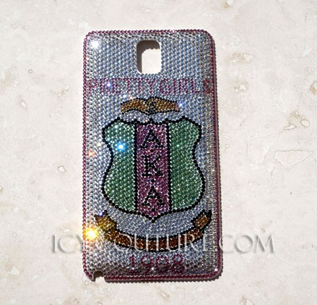AKA Sorority - ICY Couture Crystal Phone Cover Design