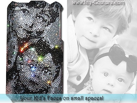 Bling Your Kids Faces on small spaces!